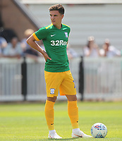 Preston North End's Josh Harrop<br /> <br /> Photographer Mick Walker/CameraSport<br /> <br /> Pre-Season Friendly -Bamber Bridge v Preston North End  - Saturday 7th July  2018 - Irongate Stadium,Bamber Bridge<br /> <br /> World Copyright &copy; 2018 CameraSport. All rights reserved. 43 Linden Ave. Countesthorpe. Leicester. England. LE8 5PG - Tel: +44 (0) 116 277 4147 - admin@camerasport.com - www.camerasport.com