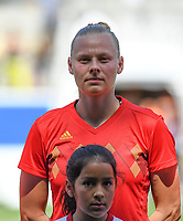 20190601 - LEUVEN , BELGIUM : Belgian Ella Van Kerkhoven pictured during the female soccer game between the Belgian Red Flames and Thailand , a friendly game as a preparation for Thailand for the World Championship in France 2019, Saturday 1 th June 2019 at OHL Stadion Den Dreef in Leuven , Belgium. PHOTO SPORTPIX.BE | DAVID CATRY