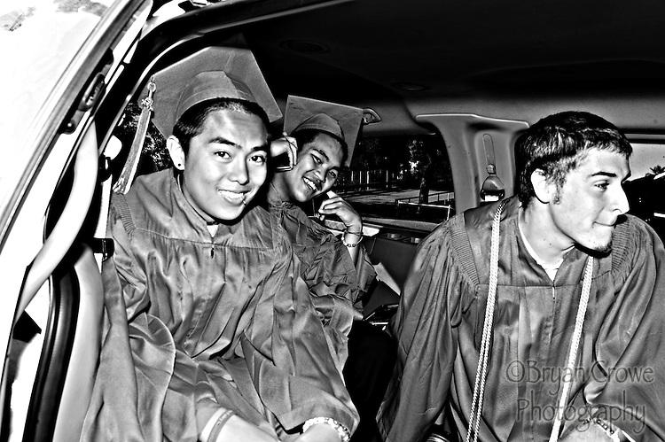 06/17/10, Fullerton Ca.; My baby Connor graduates from Fullerton Union High School.