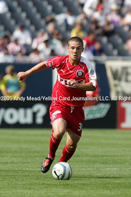 16 July 2005: Will Johnson. The Chicago Fire and Columbus Crew tied 1-1 at Soldier Field in Chicago, Illinois in a regular season Major League Soccer game.