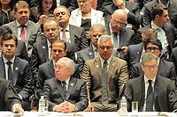 SÃO PAULO,SP,18.12.2018 - DIPLOMAÇÃO-SP - Joao Doria e major Olimpio durante  cerimonia de diplomação dos candidatos eleitos para assumir o cargo em janeiro 2019. A cerimonia foi realizada na sala Sao Paulo nesta terça-feira, 18. (Foto Dorival Rosa/Brazil Photo Press)