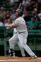Outfielder Daniel Fields #3 of the Lakeland Flying Tigers during the game against the Daytona Beach Cubs at Jackie Robinson Ballpark on April 20, 2011 in Daytona Beach, Florida. Photo by Scott Jontes / Four Seam Images