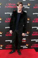 "Adrian Lastra attend the Premiere of the movie ""El club de los incomprendidos"" at callao Cinema in Madrid, Spain. December 1, 2014. (ALTERPHOTOS/Carlos Dafonte) /NortePhoto<br />