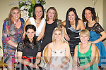 Killarney girl friends who held a reunion in the Malton Hotel on Friday night was front row l-r: Victoria Csanalosi, Mairead O'Sullivan, Noreen O'Sullivan. Back row: Jennifer Roarty, Lisa Hegarty, Geraldine Horan, Shirley O'Sullivan and Maureen Hegarty.