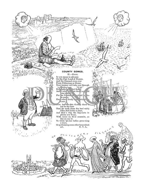 County Songs. II.—Kent. (Illustrated poem)
