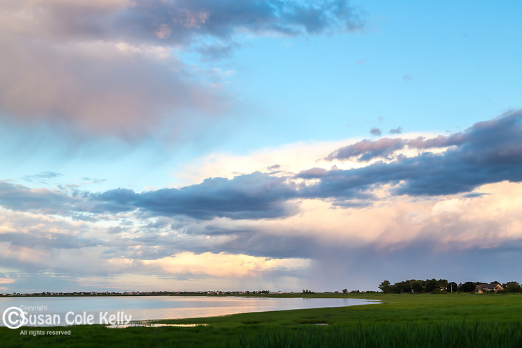 Sunset at Joppa Flats in Newburyport, Massachusetts, USA