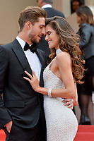 www.acepixs.com<br /> <br /> May 22 2017, Cannes<br /> <br /> Kevin Trapp and Izabel Goulart arriving at the premiere of 'The Killing Of A Sacred Deer' during the 70th annual Cannes Film Festival at Palais des Festivals on May 22, 2017 in Cannes, France.<br /> <br /> By Line: Famous/ACE Pictures<br /> <br /> <br /> ACE Pictures Inc<br /> Tel: 6467670430<br /> Email: info@acepixs.com<br /> www.acepixs.com