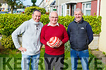 Mikey Wall, Frank Sheridan and David Leahy launch their soccer appreciation tournament for Frank Sheridan for his dedication to soccer in Marian Park over the past 30 years. The event will be held on the John Mitchels Astroturf next Sat starting at 1pm.