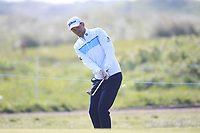 Bernd Wiesberger (AUT) on the 4th during Round 3 of the Betfred British Masters 2019 at Hillside Golf Club, Southport, Lancashire, England. 11/05/19<br /> <br /> Picture: Thos Caffrey / Golffile<br /> <br /> All photos usage must carry mandatory copyright credit (&copy; Golffile | Thos Caffrey)