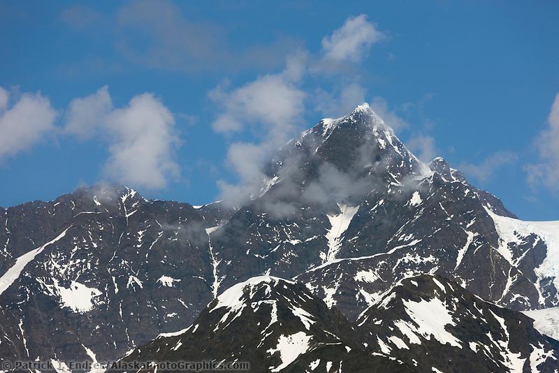 Mount Gilbert,  Chugach mountains, Chugach National forest, Prince William Sound, southcentral, Alaska.