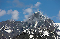 Mount Gilbert,  Chugach mountains, Chugach National forest, Prince William Sound, southcentral, Alaska.