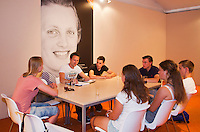 19-06-13, Netherlands, Rosmalen,  Autotron, Tennis, Topshelf Open 2013, , KNLTB Plaza, whoz next<br /> Photo: Henk Koster