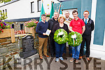 Pictured here on Sunday at the unveiling of a monument to commemorate the 150 year anniversary of the Fenians who gathered at the Old Library, Cahersiveen on the 12th February 1867 pictured here front Catherine Cournane, Pádraig Garvey, back the Monument committee l-r; Tim Horgan, Stephen Kelleghan, Pádraig Óg Ó Ruairc & Paul Clifford.