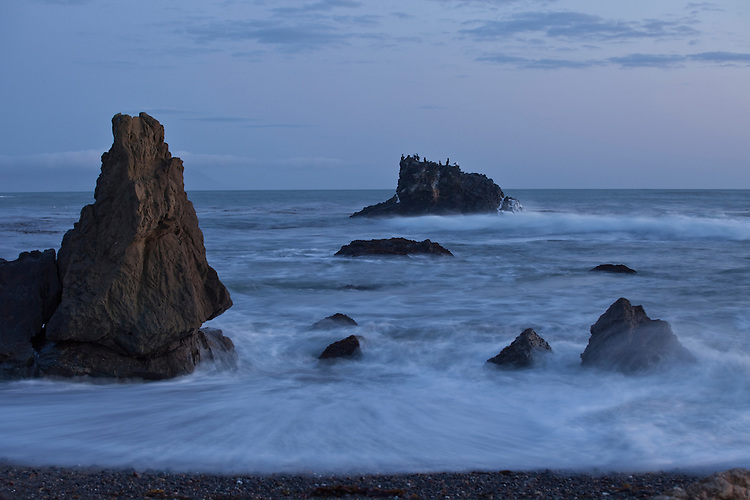 Dusk at Estero Bluffs near Cayucos on California's Central Coast