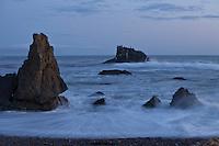 Dusk at Estero Bluffs near Cayucos on California's Central Coast