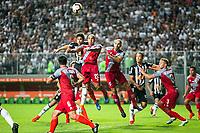BELO HORIONTE, MG, 12.02.2019: ATLETICO(MG) X DANUBIO(URU)-Lance durante partida entre Atletico (MG) x Danubio (URU),  válida pelo jogo de volta da fase classificatoria para a Copa Libertadores 2018,  no Estadio Independencia em Belo Horizonte, MG, na noite desta terça feira (12) (foto Giazi Cavalcante/Codigo19)