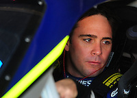 May 30, 2008; Dover, DE, USA; Nascar Sprint Cup Series driver Jimmie Johnson during practice for the Best Buy 400 at the Dover International Speedway. Mandatory Credit: Mark J. Rebilas-US PRESSWIRE