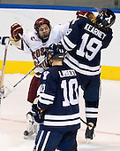 Joe Whitney (BC - 15), Denny Kearney (Yale - 19) - The Boston College Eagles defeated the Yale University Bulldogs 9-7 in the Northeast Regional final on Sunday, March 28, 2010, at the DCU Center in Worcester, Massachusetts.