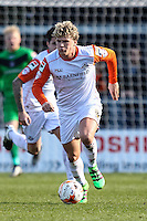 Cameron McGeehan of Luton Town during the Sky Bet League 2 match between Barnet and Luton Town at The Hive, London, England on 28 March 2016. Photo by David Horn.