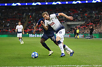 Tottenham Hotspur's Harry Kane and PSV Eindhoven's Denzel Dumfries<br /> <br /> Photographer Rob Newell/CameraSport<br /> <br /> UEFA Champions League -Group B - Tottenham Hotspur v PSV Eindhoven - Tuesday 6th November 2018 - Wembley Stadium - London<br />  <br /> World Copyright © 2018 CameraSport. All rights reserved. 43 Linden Ave. Countesthorpe. Leicester. England. LE8 5PG - Tel: +44 (0) 116 277 4147 - admin@camerasport.com - www.camerasport.com