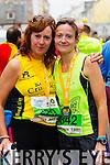 Fiona Neylon, 229 and Annmarie Tritschler, 342 who took part in the 2015 Kerry's Eye Tralee International Marathon Tralee on Sunday.