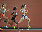 Laura MUIR (GBR) during the womens 1500m final. IAAF world athletics championships. London Olympic stadium. Queen Elizabeth Olympic park. Stratford. London. UK. 07/08/2017. ~ MANDATORY CREDIT Garry Bowden/SIPPA - NO UNAUTHORISED USE - +44 7837 394578