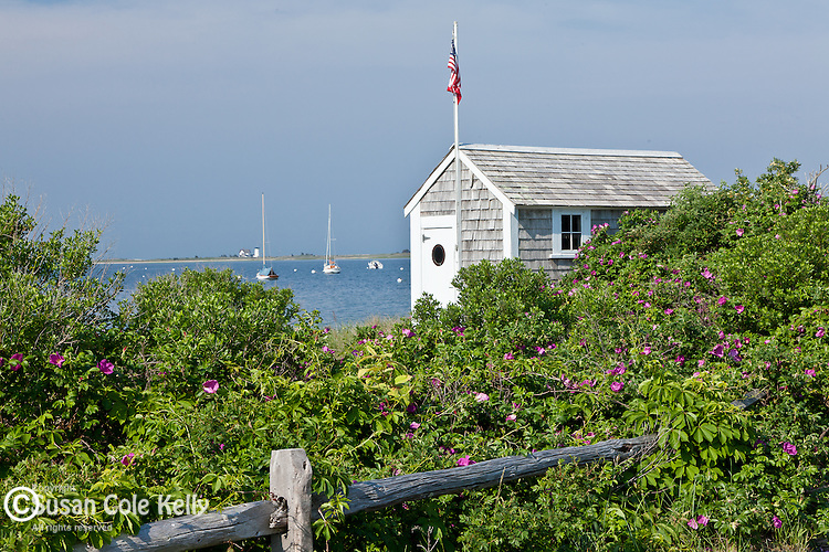 A summer morning in South Chatham, Cape Cod, MA, USA