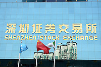Shenzhen Stock Exchange building, China..