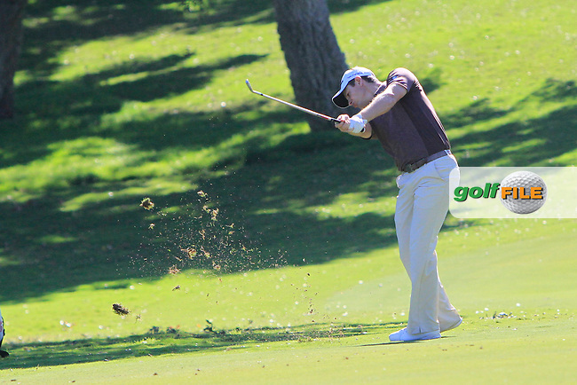 Justin Rose (ENG) during the 2nd day at the  Andalucía Masters at Club de Golf Valderrama, Sotogrande, Spain. .Picture Denise Cleary www.golffile.ie