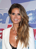HOLLYWOOD, CA - SEPTEMBER 12: Heidi Klum, at NBC's 'America's Got Talent' Season 12 Live Show at The Dolby Theatre on September 12, 2017 in Los Angeles, California. <br /> CAP/MPI/FS<br /> &copy;FS/MPI/Capital Pictures