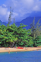 Hanalei Beach, North shore, Kauai
