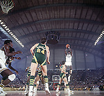 21 MAR 1970: Sidney Wicks (35) of UCLA shoots a jumper over a Jacksonville defender during the Men's Final Four Championship held in College Par, MD at Cole Fieldhouse.  UCLA defeated Jacksonville 80-69 for the national title.  Photo Copyright Rich Clarkson