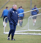 Ally McCoist lacking in central defenders