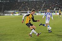VOETBAL: SC HEERENVEEN: Abe Lenstra Stadion, 17-02-2012, SC-Heerenveen-NAC, Eredivisie, Eindstand 1-0, Sven Kums, Kees Luijckx, ©foto: Martin de Jong.
