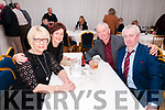 Finuge GAA Club Dinner Dance: Attending the Finuge GAA Club dinner dance in the marquee on saturday night last were Bridie O'Sullivan, Noreen Brosnan, Dinny O'Sullivan & DJ Brosnan.