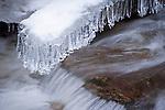 Brook Ice Fingers