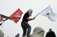 S&Atilde;O PAULO-SP,27,07,2014-ATO UNIFICADO PELA PALESTINA- Manifestantes durante o Ato Unificado pela Palestina ocupam o Monumento as Bandeias no Ibirapuera.Regi&atilde;o Oeste da cidade de S&atilde;o Paulo na tarde desse Domingo,27<br /> (Foto:Kevin David/Brazil Photo Press)