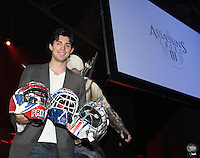October 30 2012 - Montreal, Quebec, CANADA -  UBISOFT press conference announcing an important partnership with professional goaltender Carey Price.