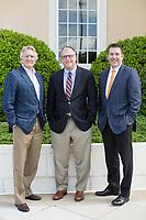 From left: Jeffrey Carver, Vice Chairman of the Johnston County Board of Commissioners, Rick Hester, County Manager, and Chris Johnson, Director of Economic Development in Smithfield, NC Friday, April 27, 2018. (Justin Cook for STAT News)