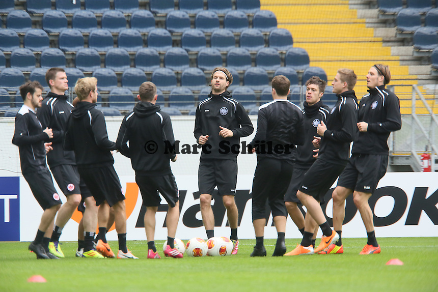 Eintracht Frankfurt Abschlusstraining
