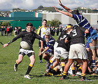 120825 Wellington Secondary Schools Rugby - Under-15 Division One Final