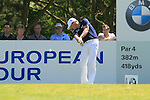 Jamie Donaldson tees off from the par 4 6th tee during Round 3 of the BMW PGA Championship at  Wentworth, Surrey, England, 22nd May 2010...Photo Golffile/Eoin Clarke.(Photo credit should read Eoin Clarke www.golffile.ie)....This Picture has been sent you under the condtions enclosed by:.Newsfile Ltd..The Studio,.Millmount Abbey,.Drogheda,.Co Meath..Ireland..Tel: +353(0)41-9871240.Fax: +353(0)41-9871260.GSM: +353(0)86-2500958.email: pictures@newsfile.ie.www.newsfile.ie.