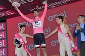 19th May 2017, Tortona, Piemonte, Italy; Giro D italia; Tstage 13 Reggio Emilia to Tortona; Team Sunweb; Dumoulin, Tom leaders podium in Tortona;