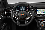 Car pictures of steering wheel view of a 2019 Cadillac CT6 Premium-Luxury 4 Door Sedan Steering Wheel