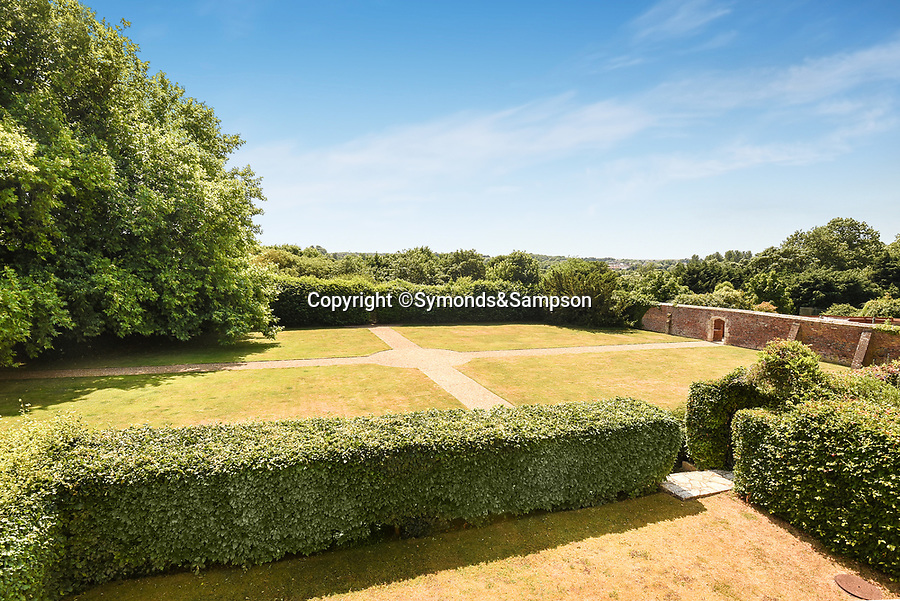 BNPS.co.uk (01202 558833)<br /> Pic: Symonds&Sampson/BNPS<br /> <br /> Gardens. <br /> <br /> A charming home which features in a Thomas Hardy novel has emerged on the market for £500,000.<br /> <br /> Grade II listed Stinsford House, in the idyllic village of Stinsford, Dorset, is referenced in the writer's 1872 novel 'Under The Greenwood Tree'.<br /> <br /> It is believed that the tree in the courtyard is the one Hardy wrote about in the romantic tale.<br /> <br /> Hardy was very attached to the village which is on the outskirts of the market town of Dorchester. He was baptised at St Michael's Church in the village and his church group is thought to have performed at the 17th century property every Christmas Eve. Following his death in 1928, his second wife fulfilled Hardy's request for his heart to be buried at St Michael's Church, while his ashes were interred at 'Poets Corner' in Westminster Abbey.<br /> <br /> The property is being sold with estate agent Symonds & Sampson.