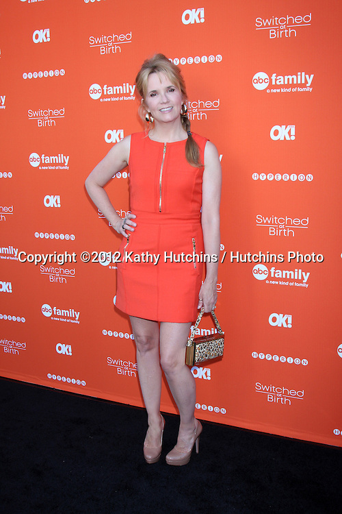 """LOS ANGELES - SEP 13:  Lea Thompson arrives at the """"""""Switched at Birth"""" Fall Premiere & Book Launch Party at The Redbury Hotel on September 13, 2012 in Los Angeles, CA"""