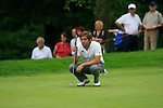 Robert Rock (ENG) in action on the 14th green during Day 2 of the BMW Italian Open at Royal Park I Roveri, Turin, Italy, 10th June 2011 (Photo Eoin Clarke/Golffile 2011)
