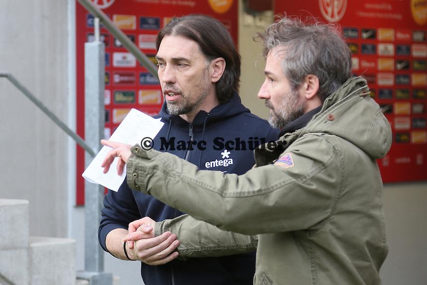 Der neue Trainer Martin Schmidt (Mainz) - 1. FSV Mainz 05 vs. Eintracht Frankfurt, Coface Arena
