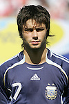 12 July 2007: Argentina's Claudio Yacob. Argentina's Under-20 Men's National Team defeated Poland's Under-20 Men's National Team 3-1 in a  round of 16 match at the National Soccer Stadium (also known as BMO Field) in Toronto, Ontario, Canada during the FIFA U-20 World Cup Canada 2007 tournament.