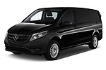 2018 Mercedes Benz Vito Mixto Perfect Tool 4 Door Combi angular front stock photos of front three quarter view